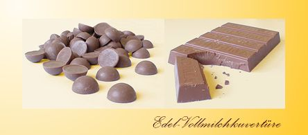 Superior whole milk chocolate couverture